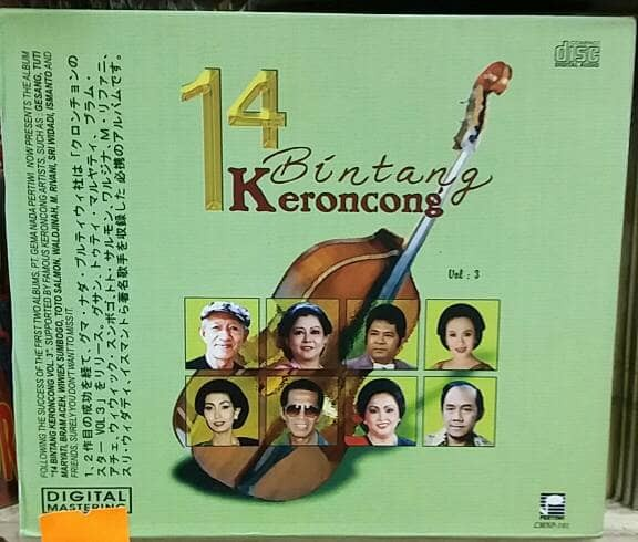 harga Cd original 14 bintang keroncong vol 3 . Tokopedia.com