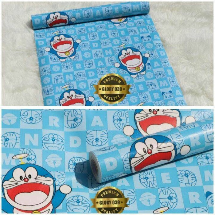 Background Logo Online Shop Lucu Doraemon Logo Design Ideas