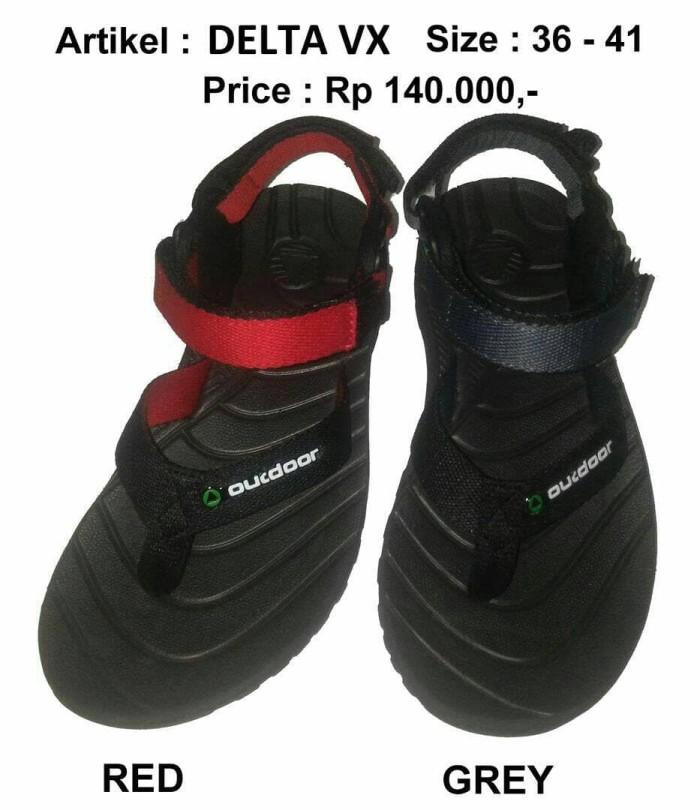 harga Sandal gunung outdoor pro wanita seri delta vx grey Tokopedia.com