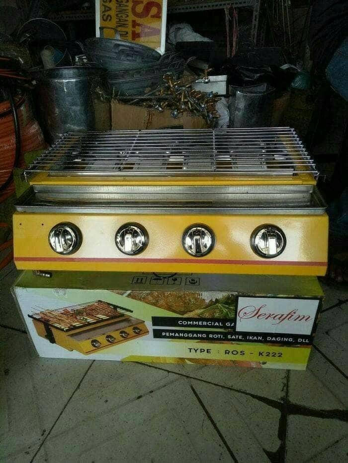 harga Kompor panggang 4 tungku (sosis bakar,ayam,ikan,sate) panggangan gas Tokopedia.com