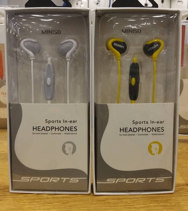 harga Headphone sports miniso japan Tokopedia.com