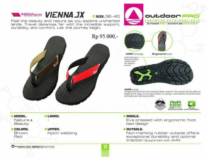 harga Sandal gunung outdoor wanita seri vienna jx brown Tokopedia.com