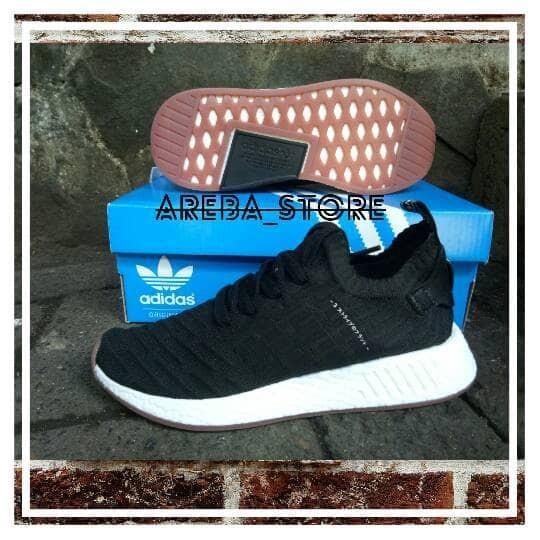 6940eaefe Jual Sepatu Adidas Nmd R2 Japan Core Black Premium High Quality ...