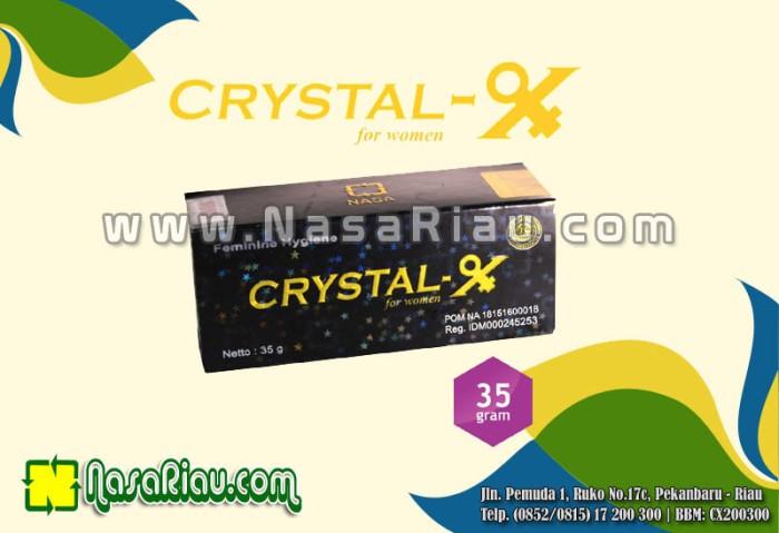 Foto Produk Crystal X Asli NASA - Crystal X Asli Untuk Organ Kewanitaan Anda dari Nasa Pekanbaru