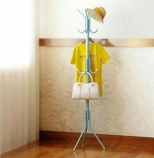 standing hanger murah Gantungan Baju Gantungan Jaket-Topi -Tas - Putih