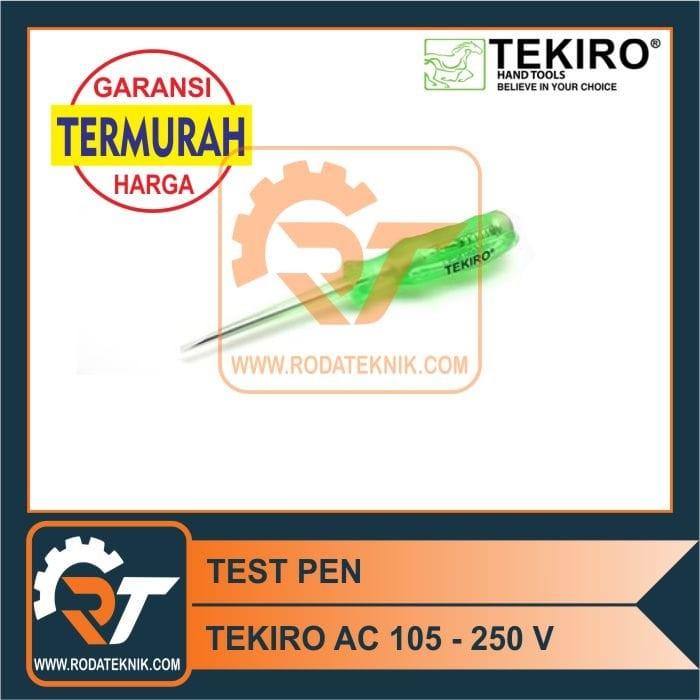 harga Termurah - tekiro obeng tespen listrik ac test pen tes pen original Tokopedia.com
