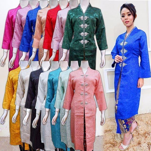 Jual Kebaya Pesta Modern Model Baju Pesta Kebaya Muslim Gaun