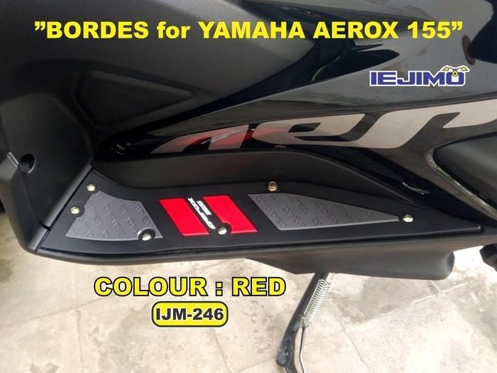 harga Bordes / karpet yamaha aerox - pelindung body - aksesoris Tokopedia.com