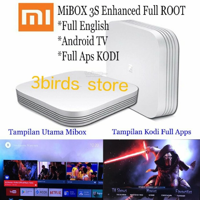 harga Xiaomi mini hezi mi box 3s pro enhanced 4k full root smart tv android Tokopedia.com