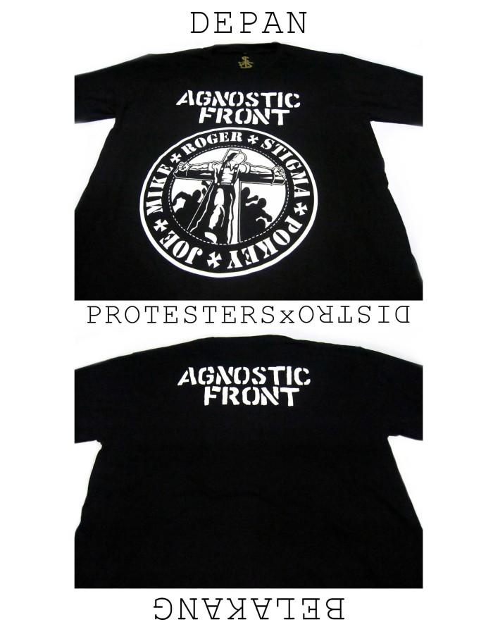 harga Kaos hardcore agnostic front Tokopedia.com