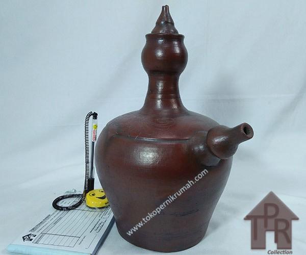 harga Kendi air gerabah natural ukir tulip - 3l Tokopedia.com