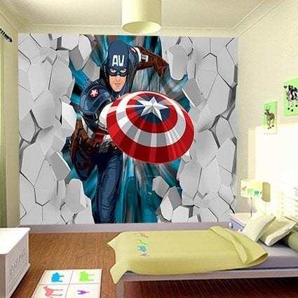 Jual Wallpaper Custom Tema Karakter Kartun - DKI Jakarta