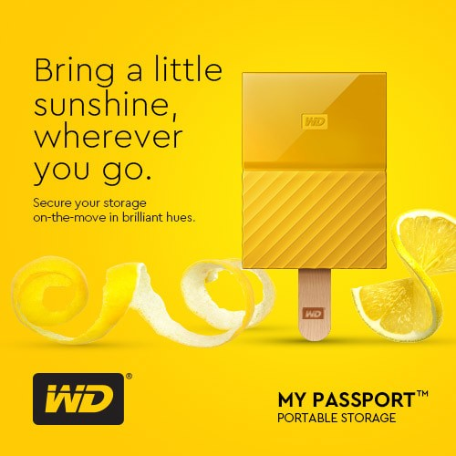 harga Wd my passport 2tb - hd hdd hardisk eksternal external 2.5  usb 3.0 - orange Tokopedia.com