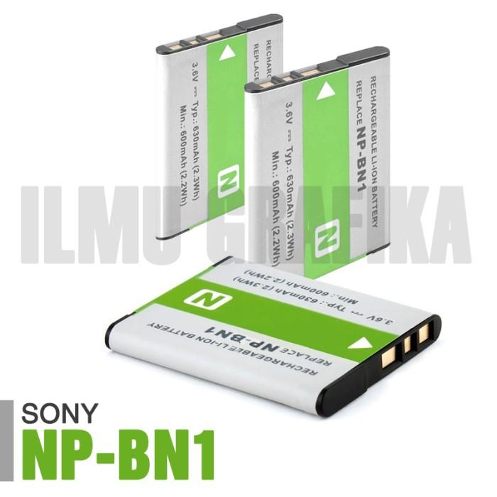 harga Baterai kamera sony cyber-shot / cybershot np-bn1 Tokopedia.com