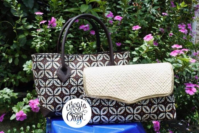 harga Paket tas dan dompet batik motif kawung Tokopedia.com