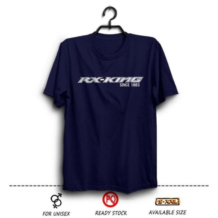 harga Kaos rx king since 1983 biru dongker ( distro otomotif motor yamaha Tokopedia.com