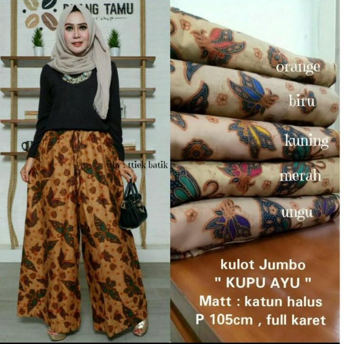 SB Collection Celana Kulot Rok Batik Samurai Kharisma Long Pant-Kupu2. Source · kulot