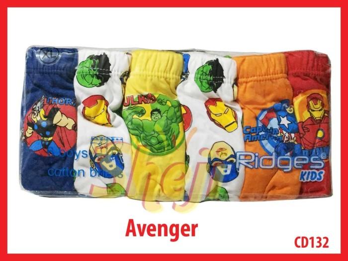 harga Celana dalam ridges anak cowo / laki-laki  avenger   isi 6 pcs Tokopedia.com