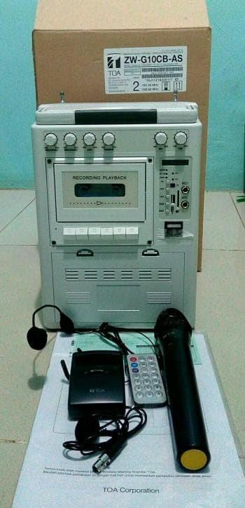 harga Speaker portable wireless meeting toa zw g10cb-as Tokopedia.com