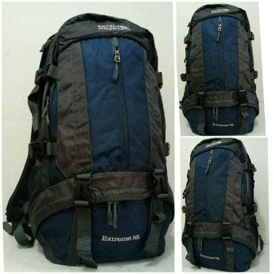 harga Tas gunung/ backpack royal mountain 8419-50l Tokopedia.com