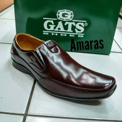 harga Sepatu kulit asli gats zu 002 brown Tokopedia.com