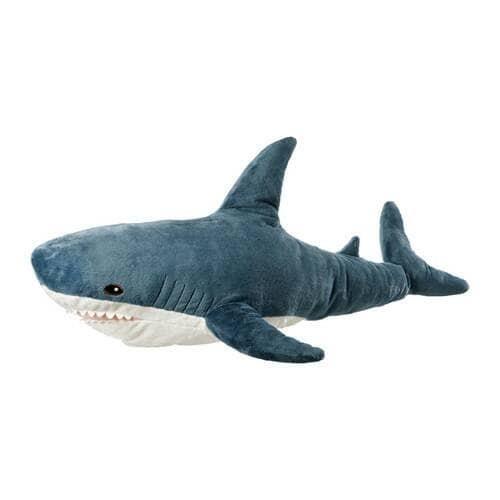 harga Ikea blahaj boneka ikan hiu baby shark panjang 100cm Tokopedia.com