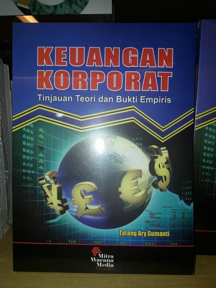 harga Keuangan korporat tinjauan teori dan bukti empiris Tokopedia.com