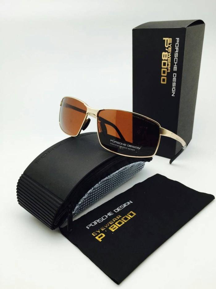 Kaca mata mewah keren pria sunglass porsche design 8541 super premium 02c77907ac