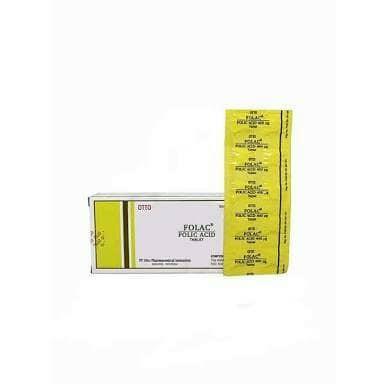 harga Folac tablet / asam folat / folic acid isi 100 tab Tokopedia.com