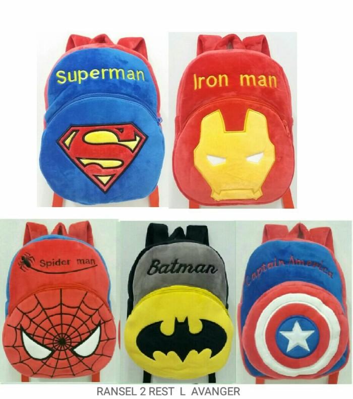 ... harga Tas ransel boneka anak karakter super hero 2rest sz l import  Tokopedia.com. Rp. 95000 36e0f636be