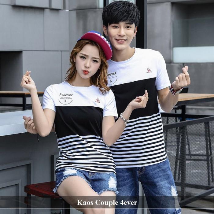 Foto Produk jual baju couple | jual baju pasangan | baju lucu | kaos imut | 4ever dari koleksi baju couple