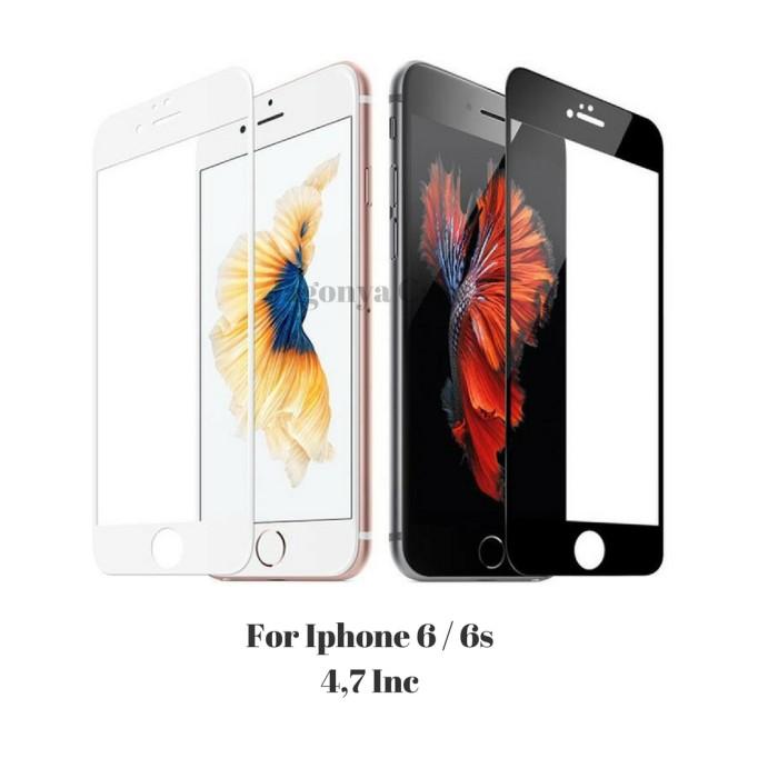 Foto Produk Tempered Glass Warna Iphone 6 / 6s - Hitam dari Jagonya Case