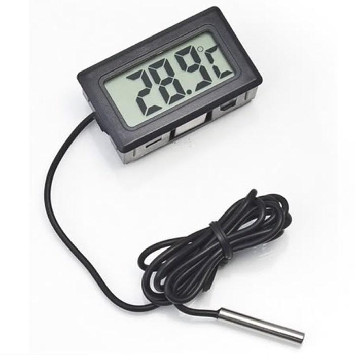 harga Digital termometer, pengukur suhu tubuh air ruangan aquarium murah Tokopedia.com