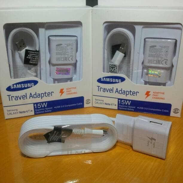 Charger samsung 15w /travel adaptor fast charging note 4 / s4 ori 99%