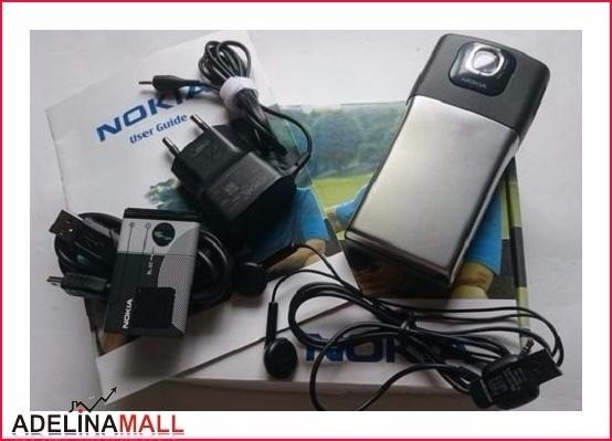 Foto Produk Best Seller Nokia N91 Dark Grey Chrome 8GB Nokia Original HP Nokia J dari MAS-WHIEN