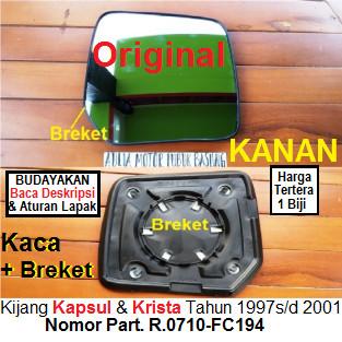 harga Kaca spion toyota kijang krista, kijang 2000 dan 2001 original kanan Tokopedia.com