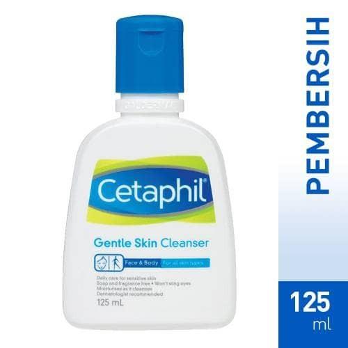 harga 125ml cetaphil gentle skin cleanser Tokopedia.com