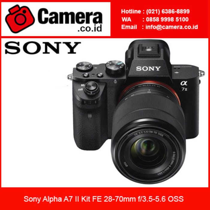 Sony alpha a7 ii kit fe 28-70mm / kamera mirrorless
