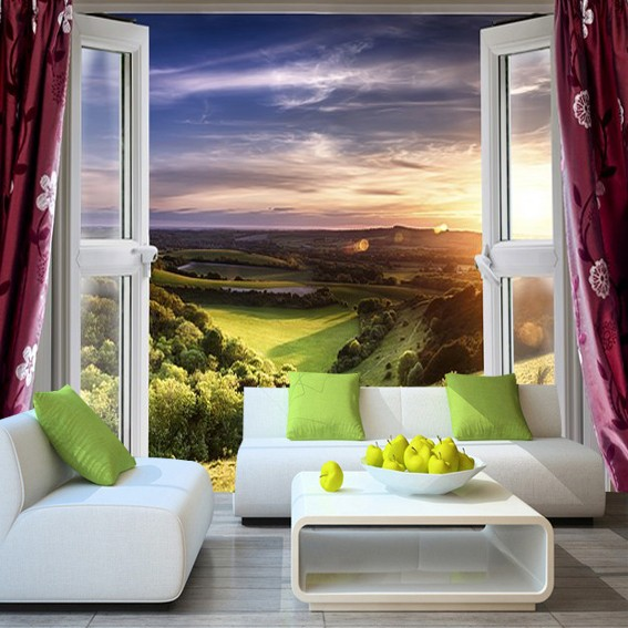 Jual Wallpaper Pemandangan Alam 3D Custom - DKI Jakarta
