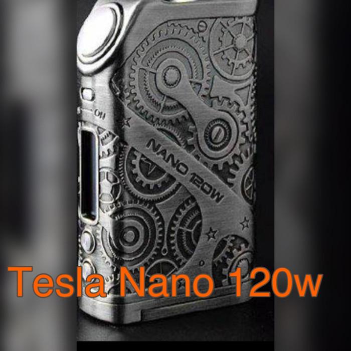 TESLA NANO SteamPunk 120w Authentic Mod Onl vape vapor rokok elektrik
