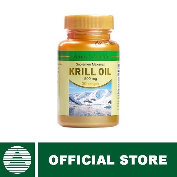harga Bundling nature's health krill oil 500 mg Tokopedia.com