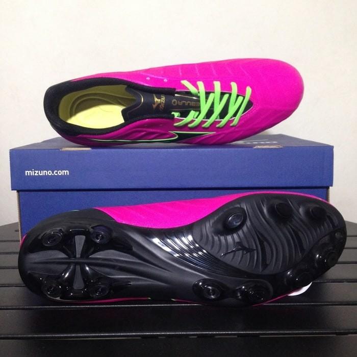 Jual Sepatu Bola Mizuno Rebula V3 Pink Glo Black P1GA178564 Original ... 0954d53add