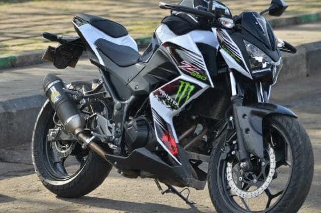 Jual Stiker Motor Kawasaki Z250 Decalartworks Tokopedia