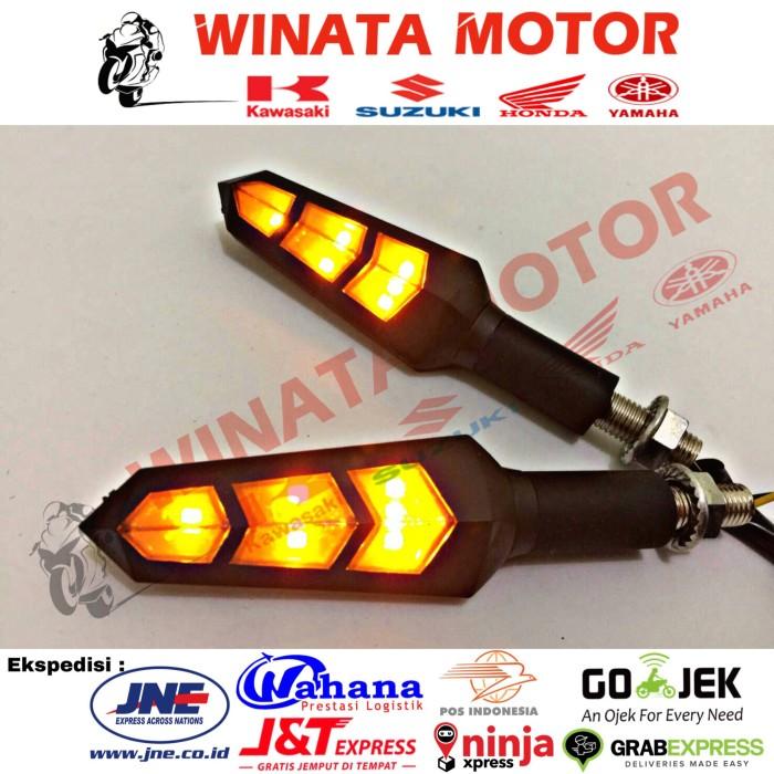 harga Lampu sen/sein variasi motorsport vixion byson cbr r15 cb150r megapro Tokopedia.com
