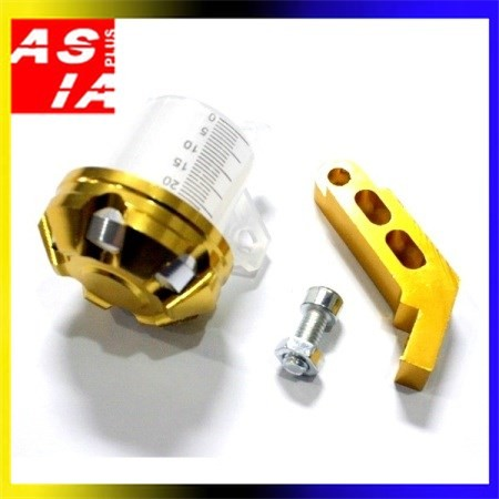 harga Tabung minyak rem rear master xw variasi sepeda motor bahan cnc gold Tokopedia.com