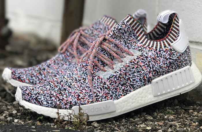 official photos 087e9 f028d ADIDAS NMD R1 PRIMEKNIT - RAINBOW  COLOUR STATIC  ADIDAS ORIGINALS