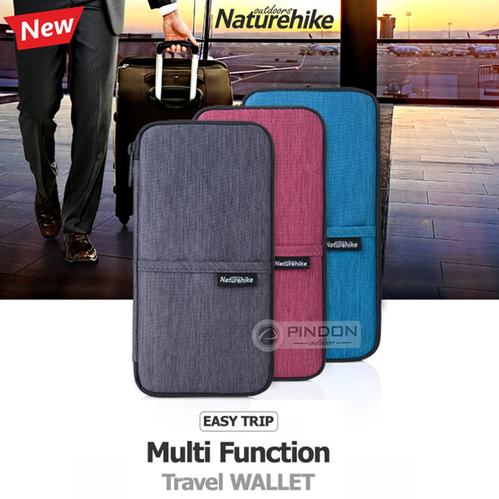 harga Dompet travel naturehike nh17c001-b - travel wallet - passport holder Tokopedia.com