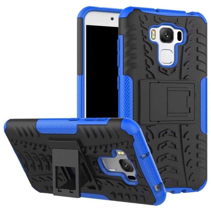 Asus zenfone 3 max 5.5 inch zc553kl rugged armor hard soft case