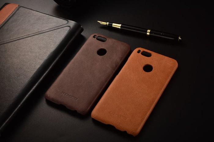 harga Hardcase cover leather vintage xiaomi mi5x mia1 mi a1 casing kulit Tokopedia.com