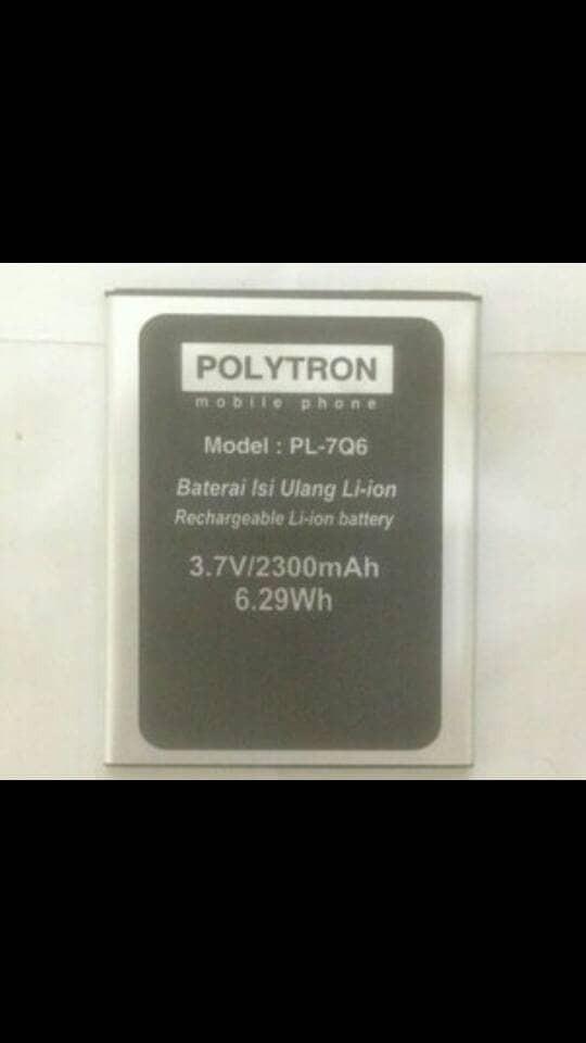 ... harga Baterai polytron rocket q5 q-five pl-7q6 original batre battery batery Tokopedia